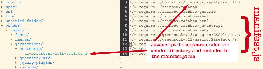Adding Javascript Libraries to a Rails Project - zingtech co nz